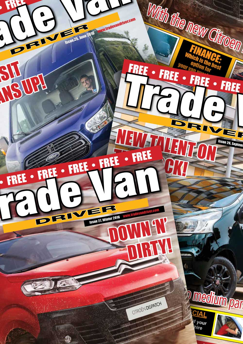 Trade Van Driver Previous Magazine