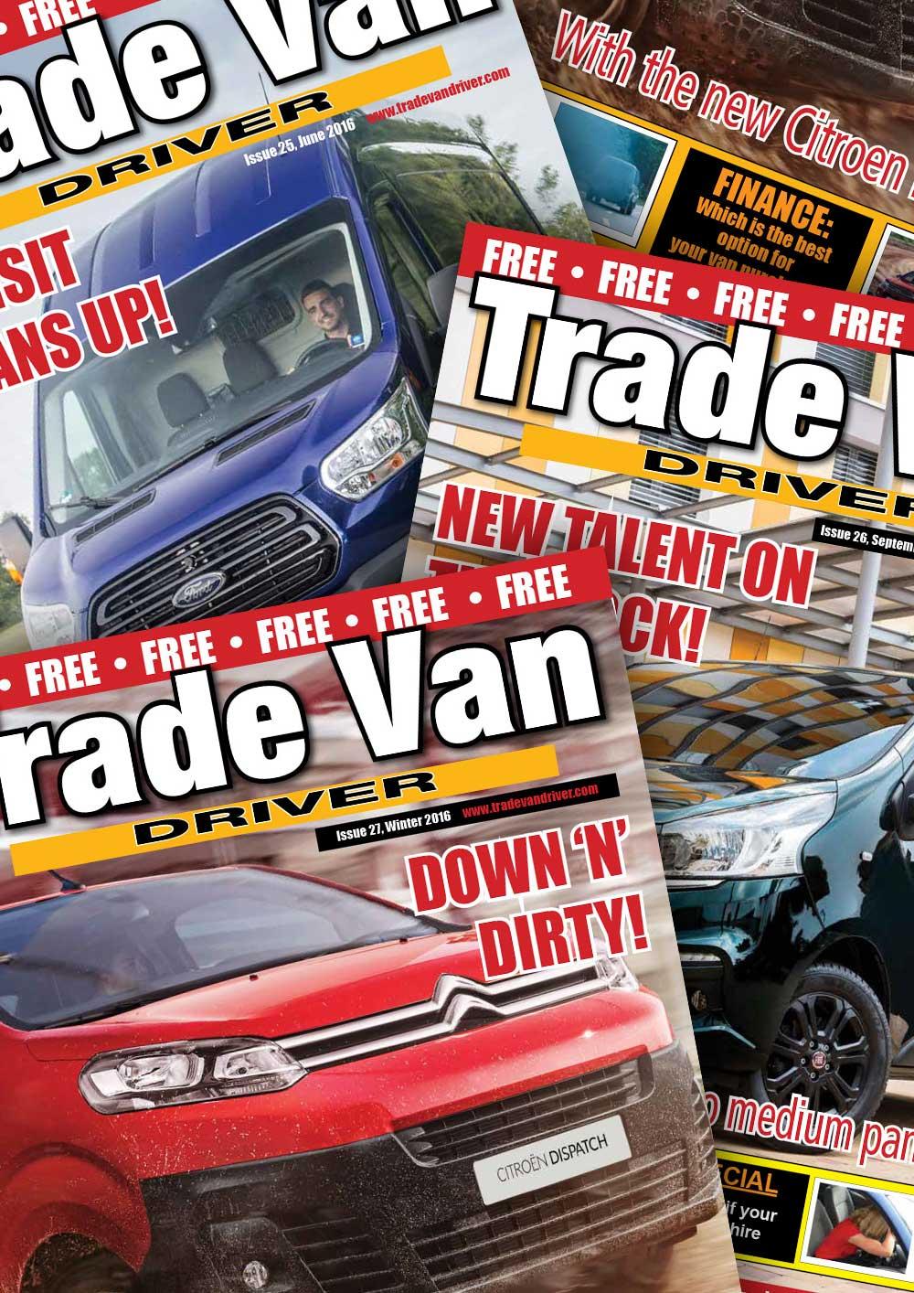 Trade Van Driver Previous Magazine
