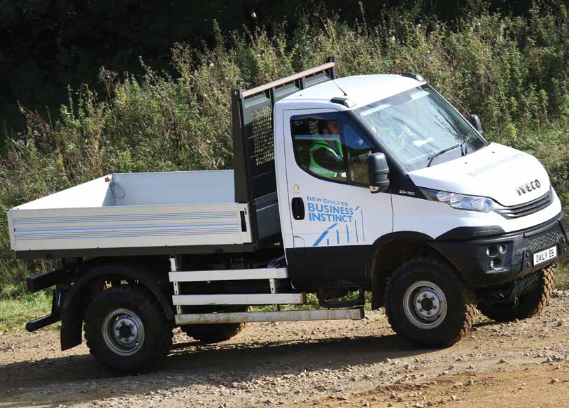 Iveco gets down and dirty with 4x4 Daily - Trade Van Driver
