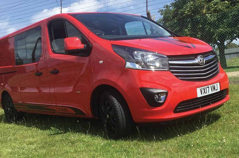 Vauxhall Vivaro Limited Edition L2H1 double-cab