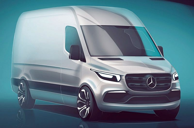 Mercedes-Benz New Sprinter Van unveiled - Trade Van Driver