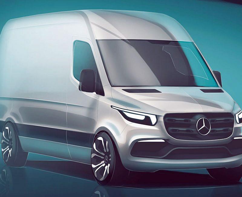 Mercedes-Benz New Sprinter Van unveiled - Trade Van Driver