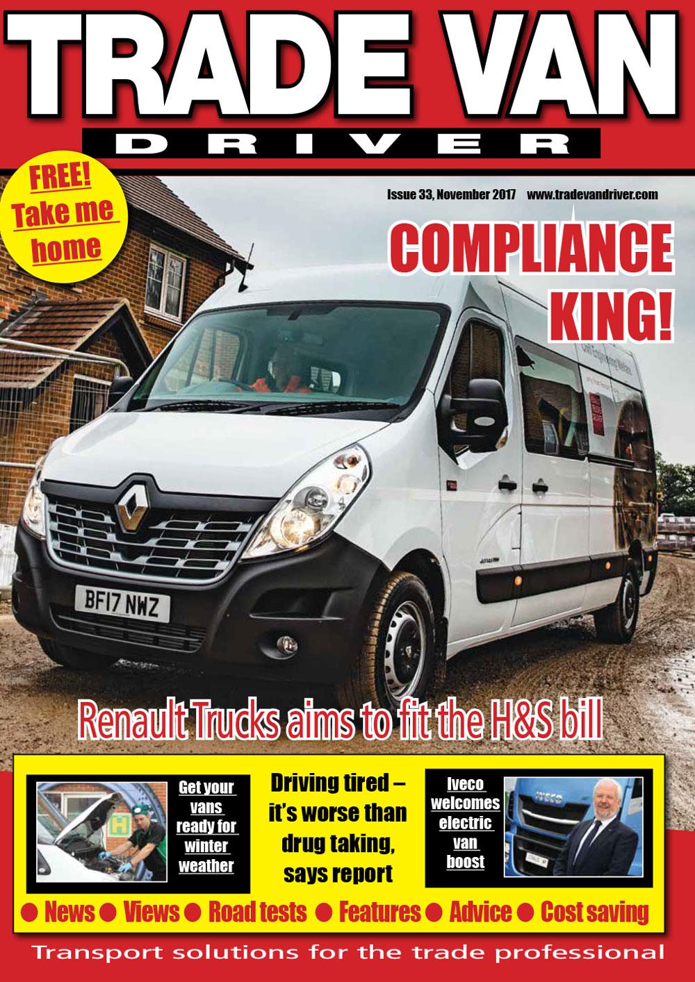 Trade Van Driver November 2017