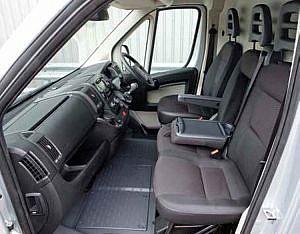 Peugeot Boxer Inside