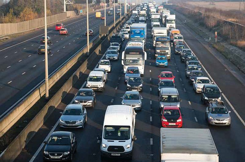 £9 billion and rising - the cost UK's businesses vehicles sitting in traffic jams