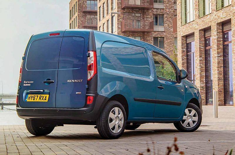 Renault Kangoo ZE Electric Van