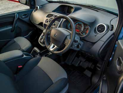 Renault Kangoo ZE Electric Van Interior