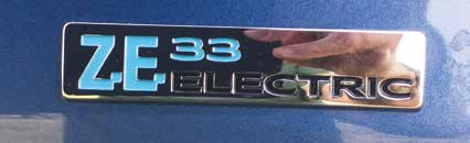 Renault Kangoo ZE Electric Van Label