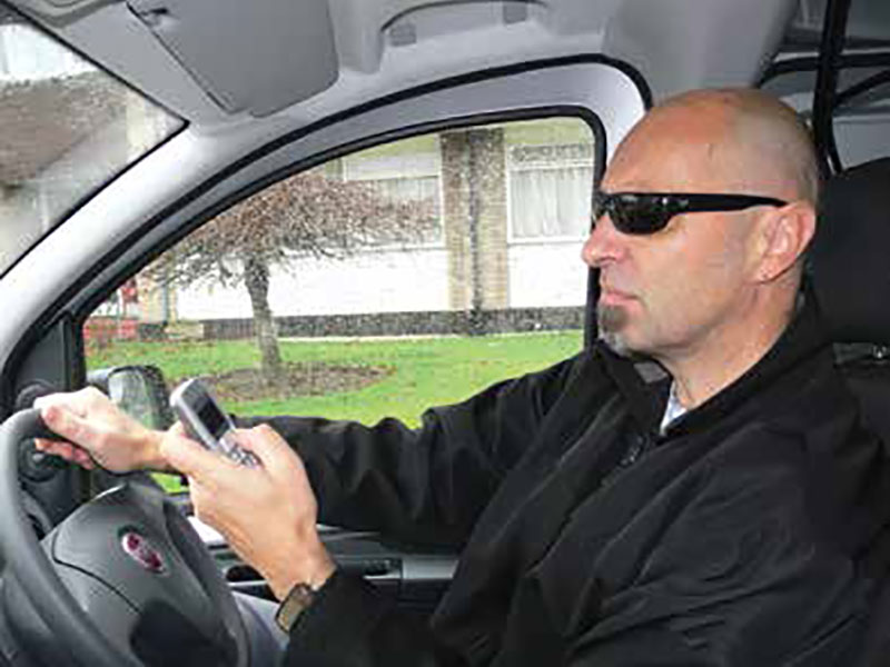 texting-safety-risk Texters and talkers while driving pose the biggest safety risk on roads