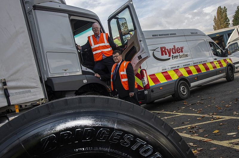 Ryder and Bridgestone renew industry-leading partnership