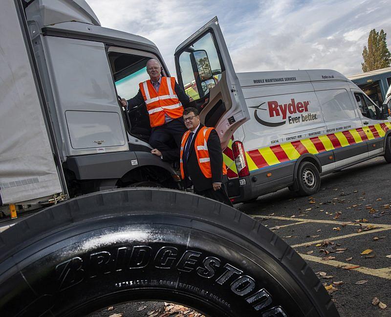 Ryder and Bridgestone renew industry-leading partnership