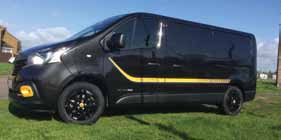 Trade Van Driver June 19 Renault Trafic Review Side View