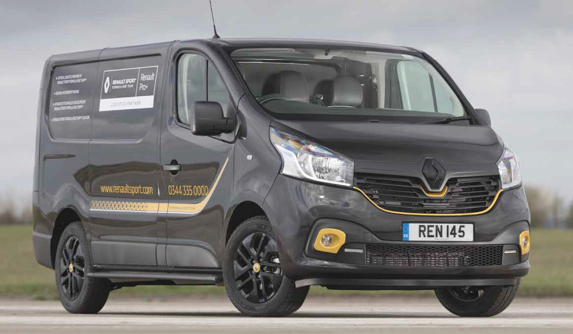 Trade Van Driver June 19 Renault Trafic Review