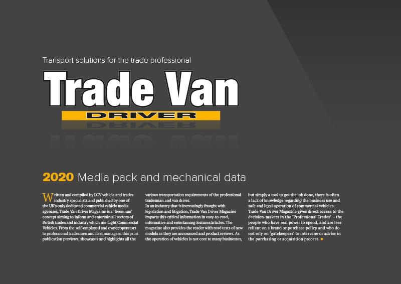 Trade Van Driver 2020 Media Pack 1